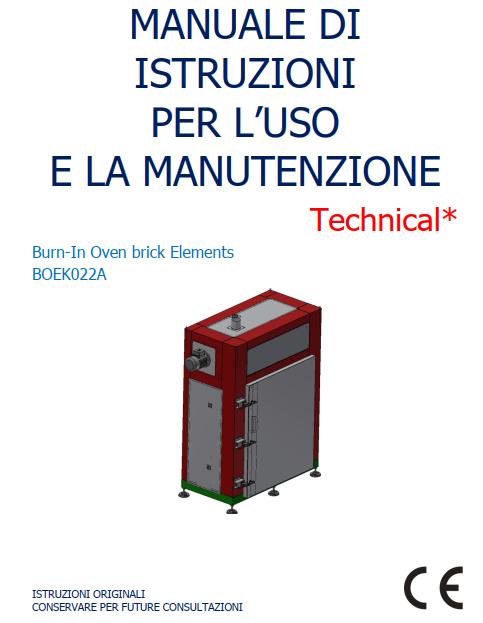 Certificazione Macchine e Manuali secondo la DIRETTIVA MACCHINE 2006/42/CE